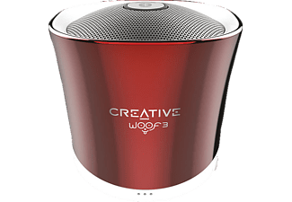 CREATIVE Woof 3 BT Bluetooth Lautsprecher, Rot