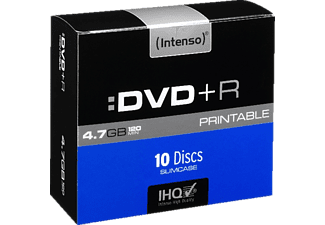 INTENSO 4811652, DVD+R Rohlinge Printable, 10 Stk.
