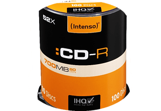 INTENSO CD-R, Rohlinge, 100 Stk.