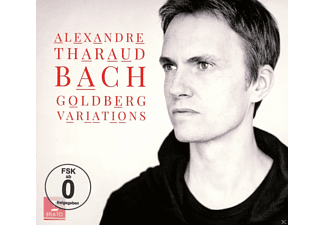 Alexandre Tharaud - Goldberg Variationen - (CD + DVD Video)