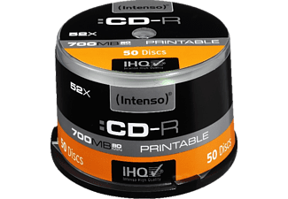 INTENSO 1801125, CD-R Rohlinge, 50 Stk.