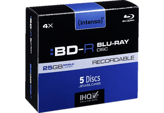 INTENSO 5001215, Blu-Ray-Disc Rohlinge, 5 Stk.