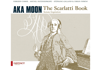 Aka Moon - The Scarlatti Book - (CD)