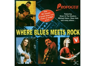 Various - Where Blues Meets Rock Vol.5 - (CD)