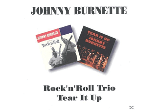 Johnny Burnette - Rock'n'roll Trio/Tear It Up - (CD)
