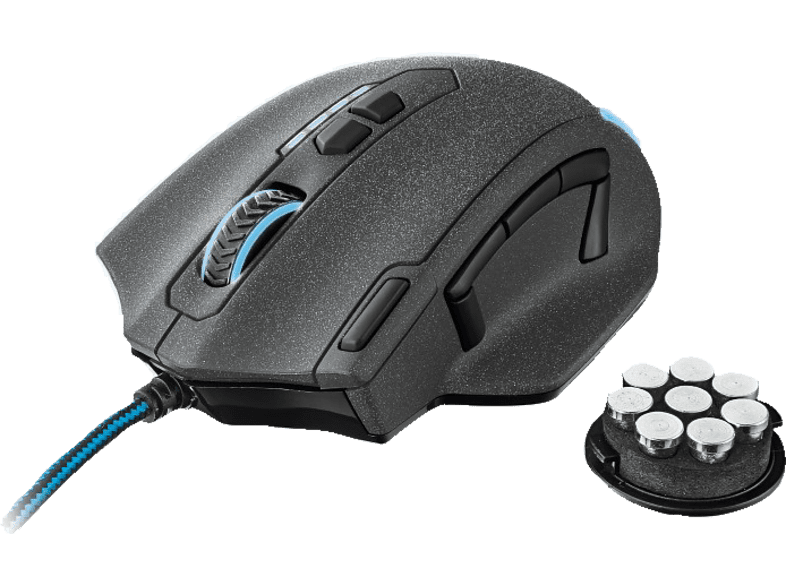 TRUST GXT 155 Gaming Mouse Βlack - (20411) laptop  tablet  computing  αξεσουάρ gaming gaming ποντίκια gaming   offline pc g