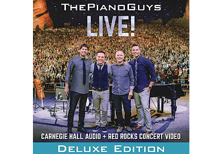 The Piano Guys - Live! - Deluxe Edition (CD + DVD)