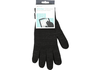 PLATINET Touch Screen Gloves Size L Black - (PGL01BL)