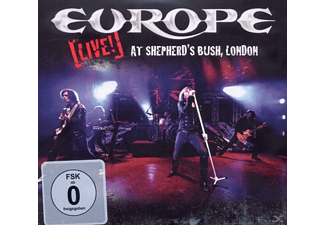 Europe - Live! At Shepherd's Bush, London - (CD + DVD Video)