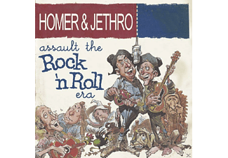 Homer - Assault The Rock'n'roll Era - (CD)