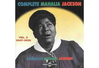 Mahalia Jackson - The Complete Vol.2 (1947-50)-Apollo Discs - (CD)