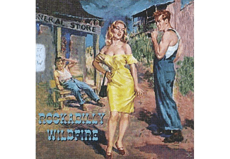 VARIOUS - Rockabilly Wildfire - (CD)