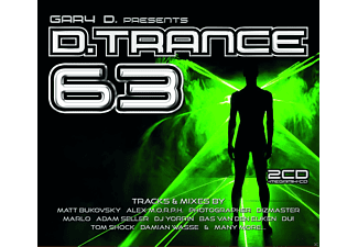 VARIOUS - D.Trance 63/Gary D.Presents... - (CD)