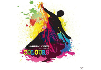 DJ Happy Vibes feat. Jazzmin - COLOURS - (Maxi Single CD Extra/Enhanced)