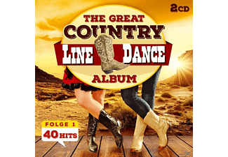 The Nashville Line Dance Band - The Great Country Line Dance Album 40 Hits - (CD)