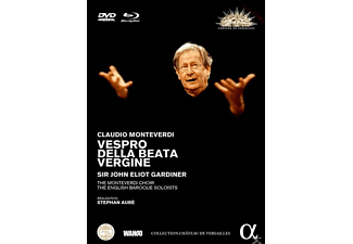 John Eliot Gardiner, The Monteverdi Choir, English Baroque Choir - Vespro Della Beata Vergine - (Blu-ray + DVD)