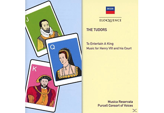 Burgess/Morrow/Purcell Consort/Musica Reservata - The Tudors: To Entertain A King - (CD)