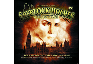 Sherlock Holmes Chronicles 22 - Der Fall der My Fair Lady - 1 CD - Krimi/Thriller