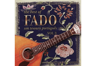 VARIOUS - The Best Of Fado: Um Tesouro Portugues Vol.3 - (CD)