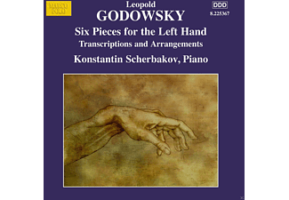 Konstantin Scherbakov - Godowsky: Six Pieces For The Left Hand [CD]