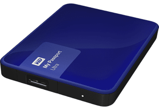 WESTERN DIGITAL My Passport Ultra 1TB Blue - (WDBGPU0010BBL-EESN)