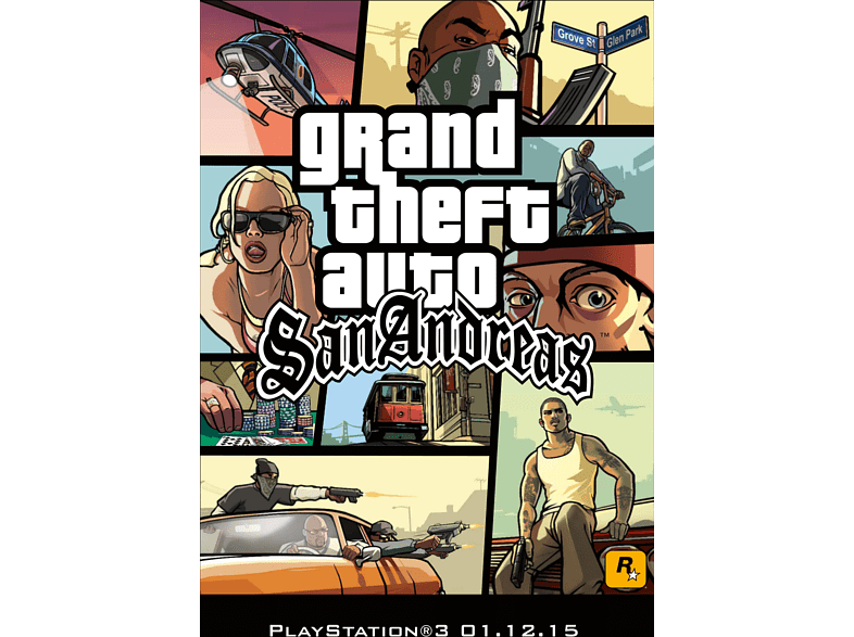 Grand Theft Auto San Andreas PS3 gaming   offline sony ps3 παιχνίδια ps3 αξεσουάρ δώρα για τον gamer gaming games