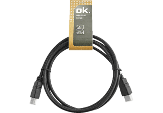 OK. OZB 1000, High Speed HDMI Kabel, 1.3 m