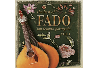 Fado - The Best Of Fado Um Tesouro Portugues Vol.4 [CD]