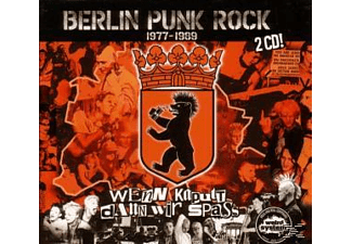 Various - Berlin Punk Rock [CD]