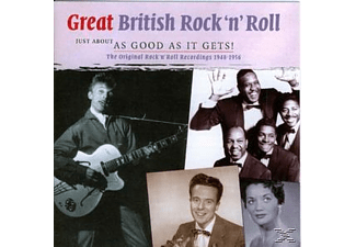 VARIOUS - Great British Rock  N  Roll  48- 56 - (CD)