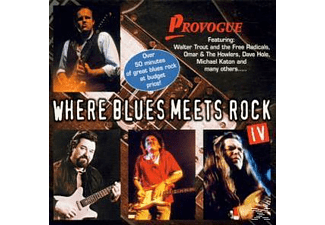 Various - Where Blues Meets Rock Vol.4 - (CD)