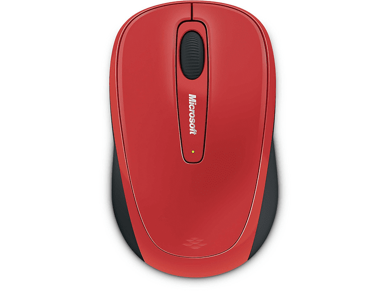 MICROSOFT Wireless Mobile Mouse 3500 Red - (GMF-293) laptop  tablet  computing  περιφερειακά πληκτρολόγια   ποντίκια  computing   tab