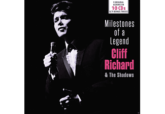 Cliff Richard and The Shadows - Milestones Of A Legend - 9 Original Albums - (CD)