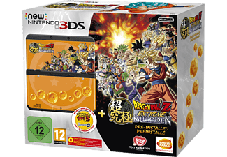 NINTENDO New 3DS Dragon Ball Z: Extreme Butoden Pack