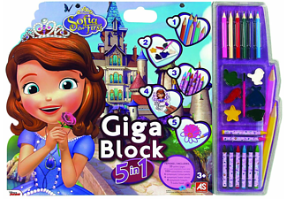 Giga Block 5-σε-1 Sofia the First