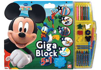 Giga Block 5-σε-1 Mickey & Club House
