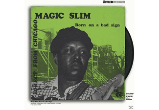 Magic Slim - BORN ON A BAD SIGN - (Vinyl)