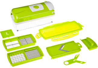 GENIUS 33594 Nicer Dicer Plus Kompakt 7-tlg., Hobel-Set