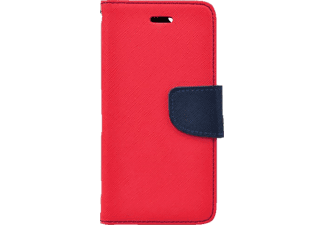 AGM 26054 Bookcover, Sony, Xperia Z5 Compact, Kunstleder, Rot/Dunkelblau