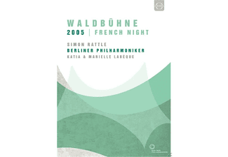 Katia Labeque, Marielle Labeque, Berliner Philharmoniker - Waldbühne 2005-French Night - (DVD)