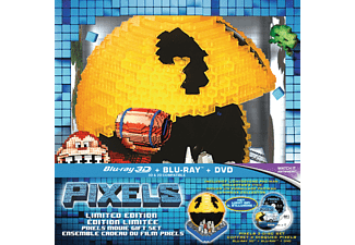 Pixels 3D (Limited Edition) | 3D Blu-ray