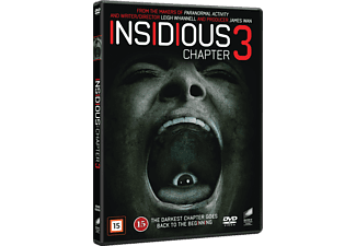 Insidious: Chapter 3 Skräck DVD
