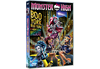 Monster High: Boo York Animation / Tecknat DVD