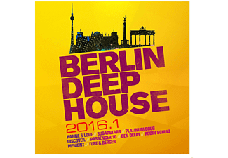VARIOUS - Berlin Deep House 2016.1 [CD]