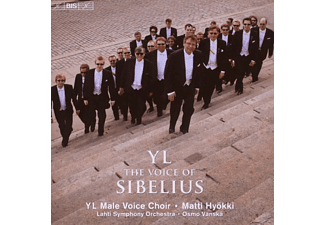 Yl Male Voice Choir - Yl-the Voice of Sibelius - (CD)