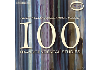 Fredrik Ullen - 100 Transcendental Studies: Nrn.26-43 - (CD)