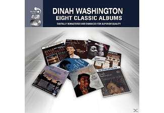 Dinah Washington - 8 Classic Albums [CD]