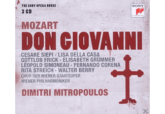 Wiener Philharmoniker, Dimitri Mitropoulos - Mozart: Don Giovanni-The Sony Opera House - (CD)
