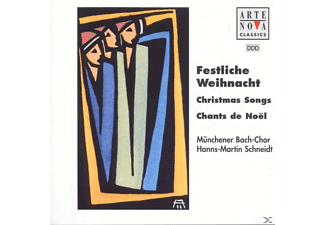 Münchener Bach-Chor - Christmas Songs - (CD)