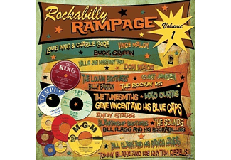 VARIOUS - Rockabilly Rampage Volume One - (LP + Bonus-CD)